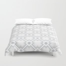 Lost in The Squares Duvet Cover