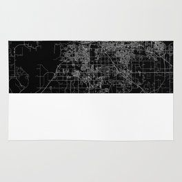 Memphis map Rug