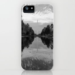 Reflecting Pool- Washington DC iPhone Case