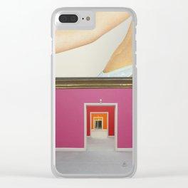 RahmenHandlung 2 Clear iPhone Case