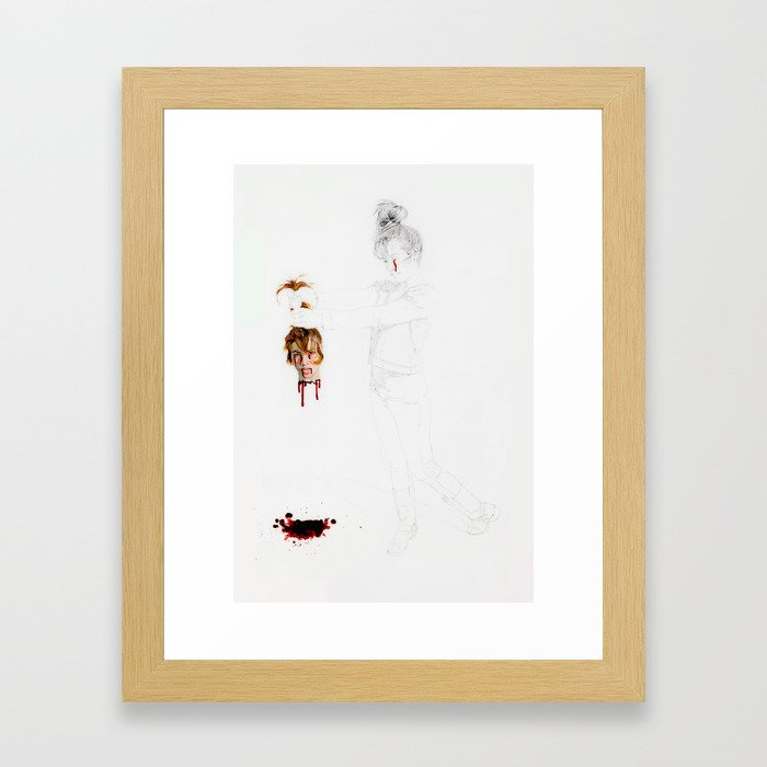 Now You Can't Hurt Me Anymore Framed Art Print