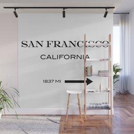 San Francisco Wall Mural