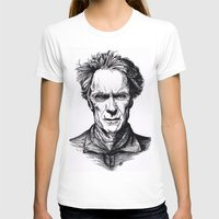 clint eastwood T-shirts featuring Clint Eastwood by Oriane Mlr