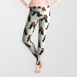P&J ...Back in the Army (White Christmas) Leggings