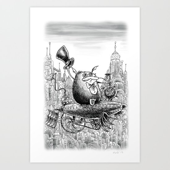 Sky Bosco Art Print