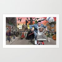 Pee Wee Saves the Day Art Print