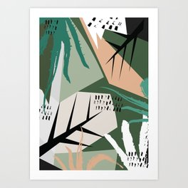 Abstract /Botanical Art Print