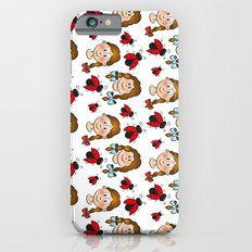 Girls and ladybirds pattern iPhone 6s Slim Case