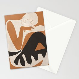 Abstract Art Figure Stationery Cards