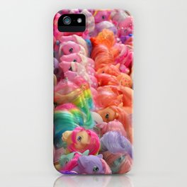 My Little Pony Horse Traders iPhone Case