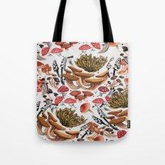 Autumnal Fungi Tote Bag