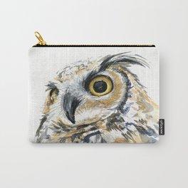 Owl Great Horned Bird of Prey Owls Animals Bird Wildlife Tasche
