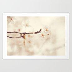 Ethereal Spring Art Print