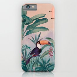 Jungle Paradise iPhone Case