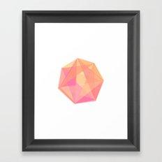 Gem Framed Art Print