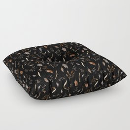 """Dried flowers"" Floor Pillow"