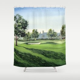 Winged Foot Golf Course New York Shower Curtain