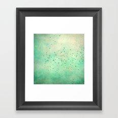 birds IV Framed Art Print