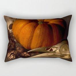 Halloween Still Life Rectangular Pillow