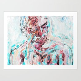 Unfazed Art Print