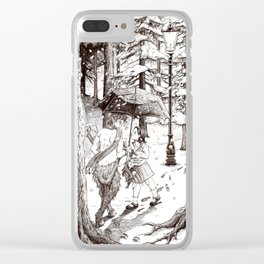 The Lion, the Witch and the Wardrobe Clear iPhone Case
