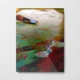 Palette Cleanser Metal Print