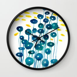 The Mermaid's Wineglasses Wall Clock