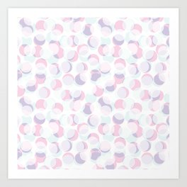 Random dots pattern. Art Print