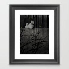 The cursed Boy.  Framed Art Print