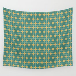 Mid Century Groove Wall Tapestry