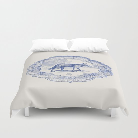 DelftWare Wolf Duvet Cover