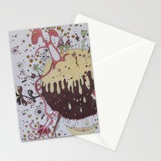 the strange planet Stationery Cards
