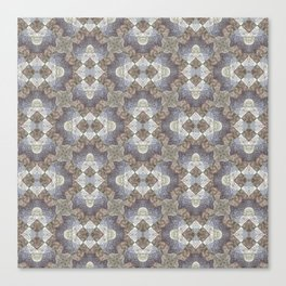 Tree Weave 4 Fabric Canvas Print