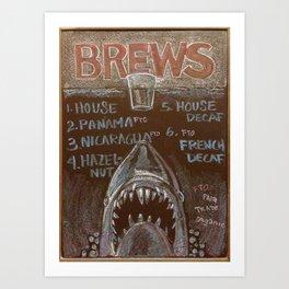 Brews Art Print