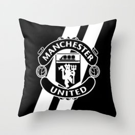 Manchester United Throw Pillow
