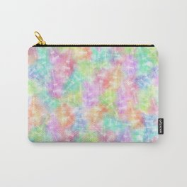 Eiffel Tower Rainbow Pattern Carry-All Pouch
