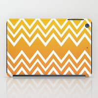 tequila iPad Cases featuring Tequila Sunrise by Color and Form