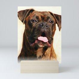 Boxer Dog Mini Art Print