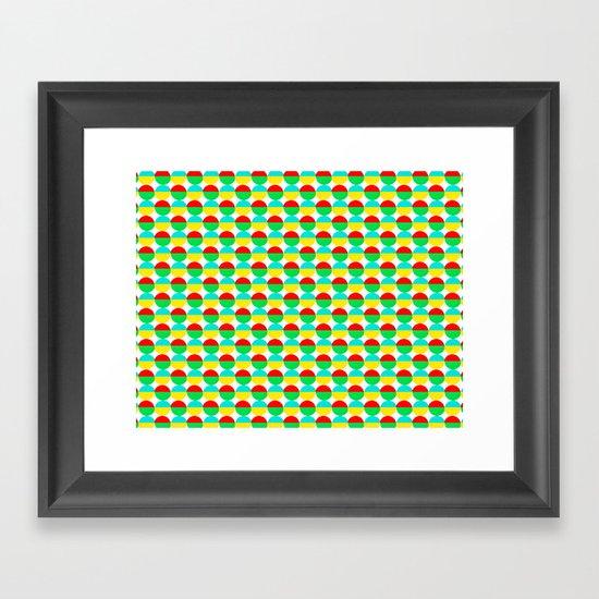 Van Abbe Pattern Framed Art Print