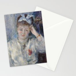 Portrait of Mademoiselle Marie Murer Stationery Cards