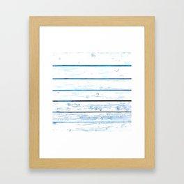 Paint Wood Framed Art Print