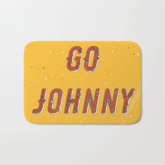 Go go - go Johnny go – A Hell Songbook Edition Bath Mat