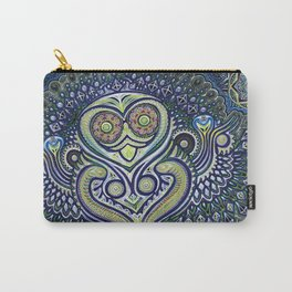 Inner Light / Psychedelic Owl Carry-All Pouch