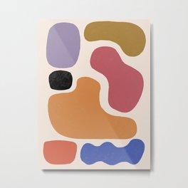 Abstract # 34 Metal Print