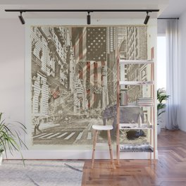 Elephant in New York Picture Wall Mural