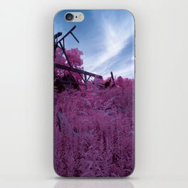 The Barn Disappears iPhone Skin