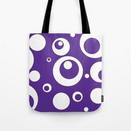 Circles Dots Bubbles :: Grape Juice Tote Bag