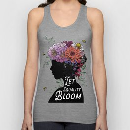 LET EQUALITY BLOOM Unisex Tank Top