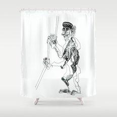 tug, or rug Shower Curtain