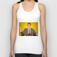 mad men Tank Tops featuring Don Draper - Mad Men by Tom Storrer